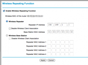 Netgear Wireless Bridging Setup 2